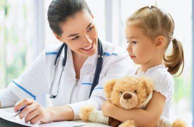 Приём детских врачей